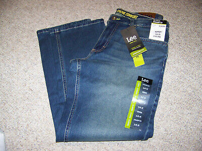 Boys size 14 Husky blue jeans Lee x-treme comfort active stretch sure to fit