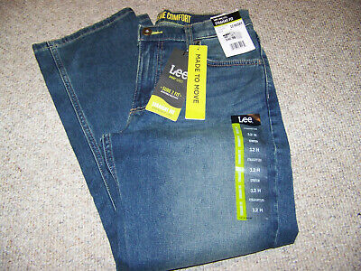 Boys size 12 Husky blue jeans Lee x-treme comfort active stretch sure to fit