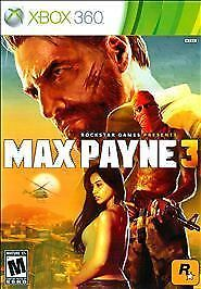 Max Payne 3 (Microsoft Xbox 360, 2012) SINGLE PLAYER DISC 1 ONLY