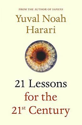 Like New, 21 Lessons for the 21st Century, Harari, Yuval Noah, Hardcover