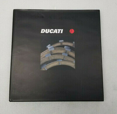 DUCATI Year Book 2001, 4 Valve Story in English and Italian Superbike