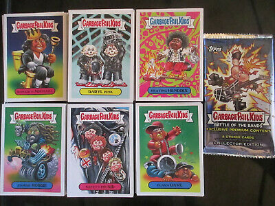 Garbage Pail Kids 2017 Battle Of The Bands Complete 180 a/b Card Set + Wrapper