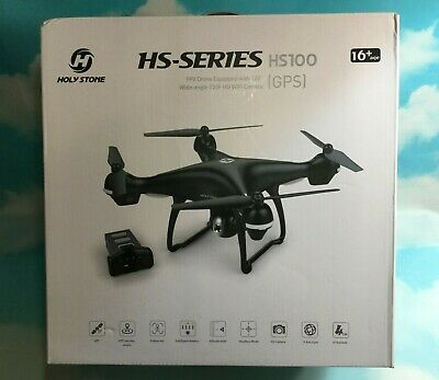 Holy Stone HS100 Drone GPS Live View FPV HD Camera Altitude Hold Follow Me RTH
