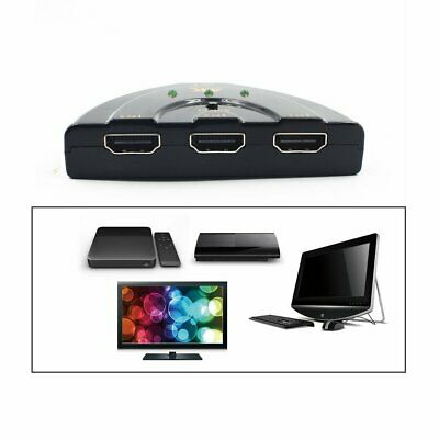3 in 1 Out Ports 4K*2K HDMI Switch Splitter Video Auto Switcher Hub Converter S