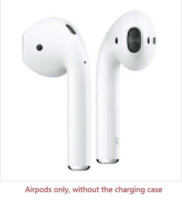 Apple AirPods Left&Right Ear Buds Only White Wireless Bluetooth Headsets No Case