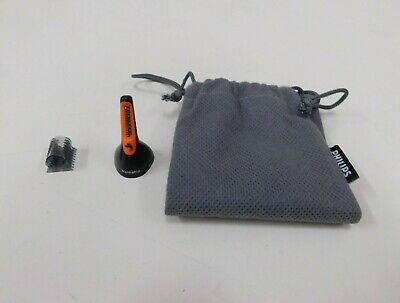 Genuine Trimmer Head & Pouch For Philips Series 3000 Nose/Ear Hair Trimmer
