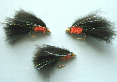 3 X ORIGINAL CATS WHISKER SHORT SHANK LURES  sizes 10,12,14  available