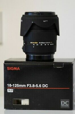 Sony fit Sigma 18mm -125mm lens