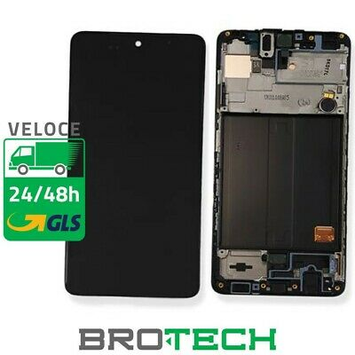Display LCD Samsung Service Pack A51 A515 black