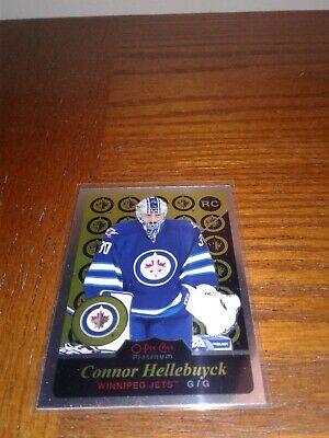 2015-16 O-Pee-Chee Platinum Retro Rookie Connor Hellebuyck #R89