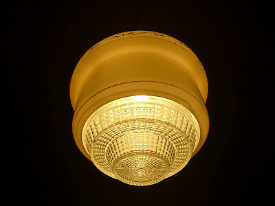 Vintage  Art Deco Light Shade with Diffuser