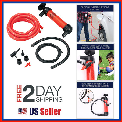 Fluid Extractor Pump Manual Suction Oil Fuel Disel Transmission Transfer Hand