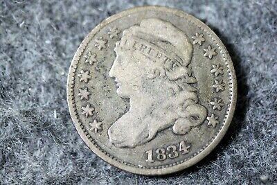 Estate Find 1834 - Capped Bust Dime!! #J07418