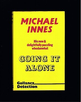 BRITISH CRIME ~ MICHAEL INNES ~ GOING IT ALONE ~ 1st UK Ed ~ EX COND