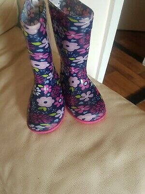 Infant girls wellies size 6 (Never Worn)