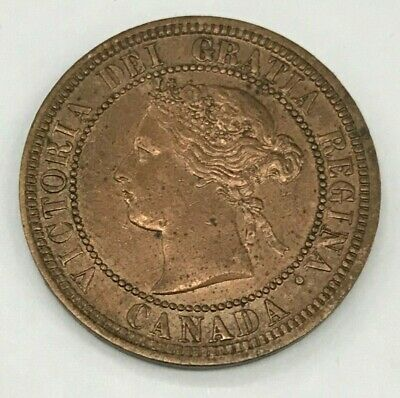 1881-H Canadian Large Cent Higher Grade