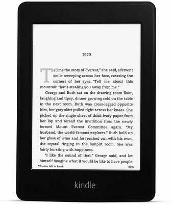 Amazon Kindle Paperwhite 6th Generation E-Book Reader- Wi-Fi Capable - Black