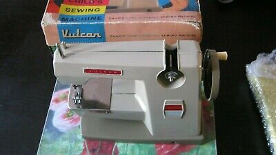 VULCAN Countess Toy Hand Sewing Machine VGC With Original box & Instructions