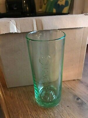 Bacardi glas verre glass new set of 6 in box