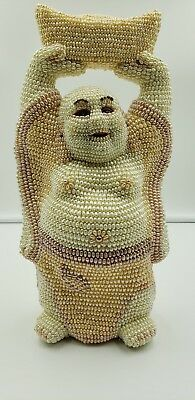 Authentic Cultured Pearl Buddha Statue Hand made in China