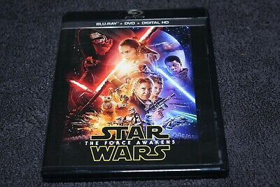 Star Wars Episode VII: The Force Awakens Blu-ray/DVD