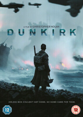 Dunkirk DVD (2017) Tom Hardy  cert 12 2X discs FREE Shipping, Save £s SUPERB