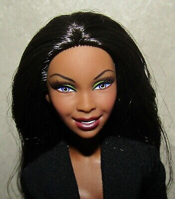 Barbie Basics Doll Model 10 Collection 1.0 African American Doll Mint W/Stand