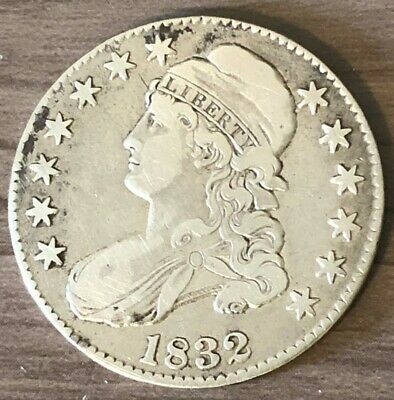 1832 Capped Bust Half Dollar ~ XF Condition ~Small Letters