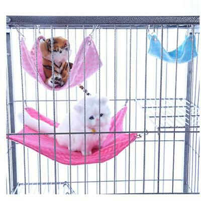 Hammock for Ferret Rabbit Guinea Pig Rat Hamster Squirrel Mice Bed Toy House LP