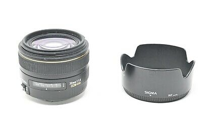 Sigma 30mm f/1.4 EX HSM DC Lens For Canon (#A7)
