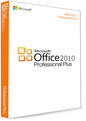 Licencia Microsoft Office 2010 Professional Plus 32/64Bit-Clave de producto(key)