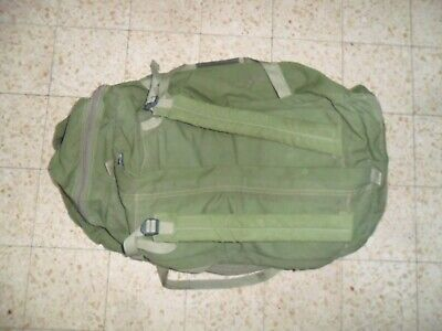 THE REAL DEAL Zahal Carry All Field Duffle Bag Canvas Israeli Army w/ Idf label
