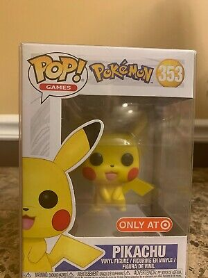 Funko Pop! Pikachu Target Exclusive Vinyl Figure With Protective Case