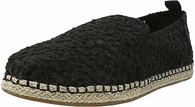 Toms Women's Deconstructed Alpargata Lace Rope Sole Ankle-High Slip-On Shoes