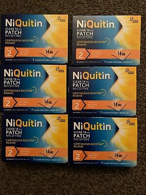 NiQuitin Clear patch Step 2 x 42 patches 14 mg