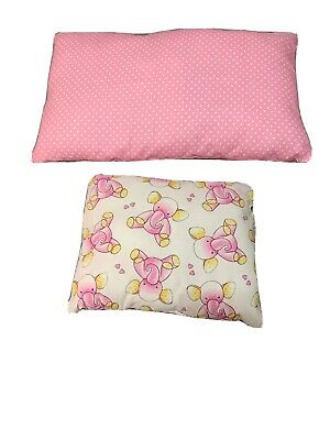 "PharMeDoc Toddler Pillow Little Pillow for Kids Ages 1-5 14/"" x 19 inches"