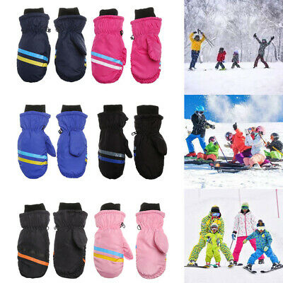 Snow Snowboard Long-sleeved Mitten Outdoor Riding Children Ski Gloves