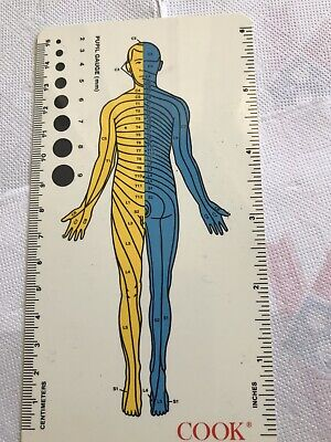 Pharmaceutical Drug Rep Medical Cook Group Incorporated Collectible Reflex Ruler