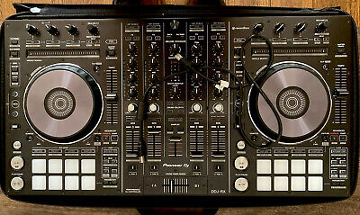 Pioneer DDJ-RX 4-Channel 4-Deck RekordBox DJ Controller and Mixer w/ Case