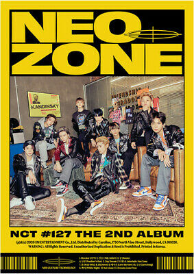 NCT 127 - The 2nd Album 'NCT #127 Neo Zone' [N Ver.] [New CD]