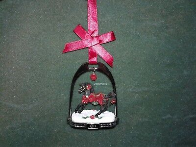 Breyer 2012 Christmas Stirrup Ornament With Box  Nib