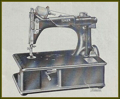 Antique Singer Model 24-80 ~Portable Chain Stitch~ Sewing Machine Manual