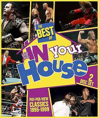 WWE: The Best of WWE In Your House (DVD, 2013, 3-Disc Set) DISC IS MINT