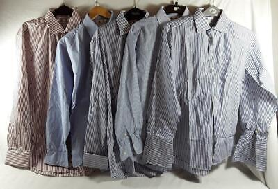 5 x Mens Stephens Brothers Shirts Collar Size 15 1/2. Cotton. Stripes.