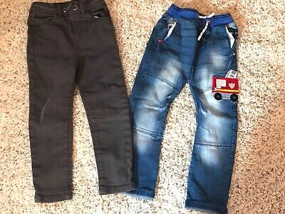 Boys Next Slim fit Jeans Age 4-5 years vgc