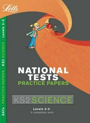 Very Good, Letts Key Stage 2 Practice Test Papers – Science, Jackie Clegg, Paper