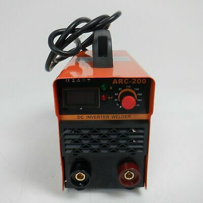 Digital Display LCD IGBT ARC Welding Machine DC Inverter Welder 250A 220V-240V