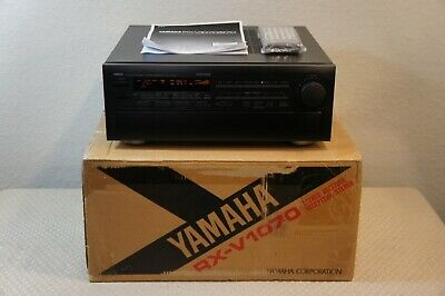 Yamaha Rx-V1070 Natural Sound Stereo Receiver In Original Box