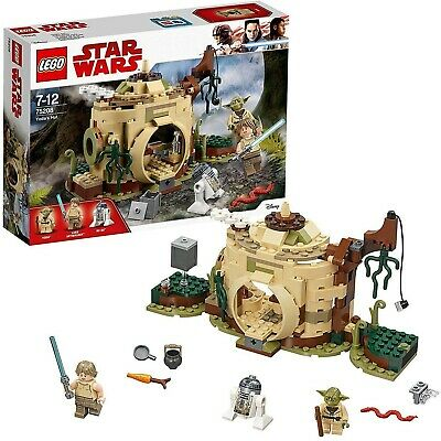 Lego Star Wars Yoda's Hut - 75208 - Brand New, Complete and Sealed!