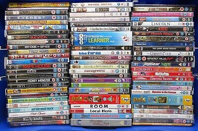 Brand New and Sealed DVD Movies. Mixed titles Job Lot Bundle #13353
